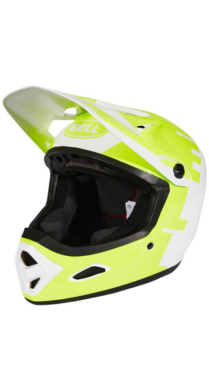 Bell Transfer-9 Downhill helm geel/wit